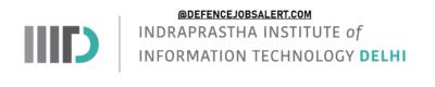 IIIT Delhi Recruitment