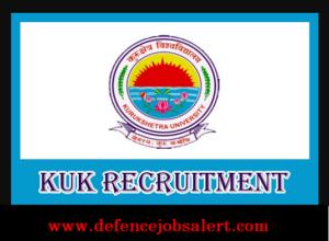 KUK Non-Teaching Recruitment