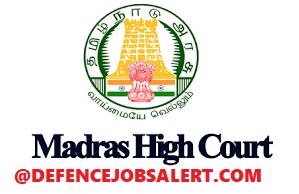 Madras High Court Recruitment