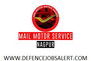 Mail Motor Service Nagpur Recruitment