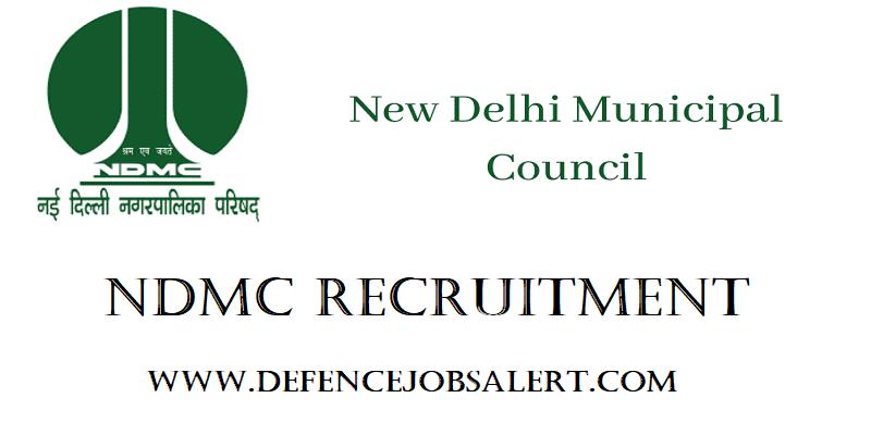 NDMC Delhi Recruitment