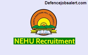 NEHU Recruitment