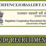 RCDF Recruitment 2021 - Apply Online for Manager, Junior Engineer And Other Vacancies