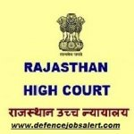 Rajasthan High Court Recruitment 2021 Govt Jobs In Rajasthan High Court