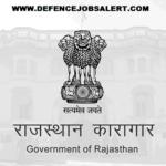 Rajasthan Prisons Department Recruitment 2021 Employment News In Rajasthan Prisons Department