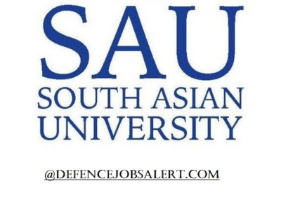 SAU Delhi Recruitment