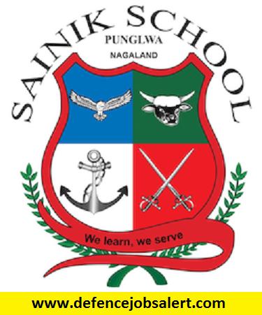 Sainik School Punglwa Recruitment