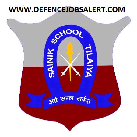 Sainik School Tilaiya Recruitment