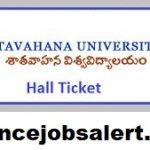 Satavahana University Admit Card 2021 | Download सतवाहन यूनिवर्सिटी प्रवेश पत्र