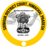 Sirmaur District Court Recruitment