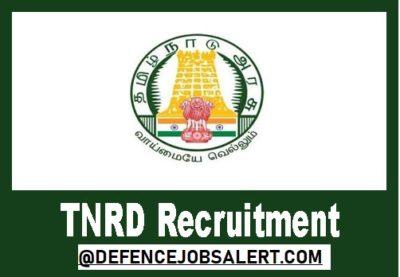 TNRD Chennai Recruitment