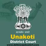 Unakoti District Court Recruitment 2021 Apply Offline For Junior Grade Stenographer Vacancies