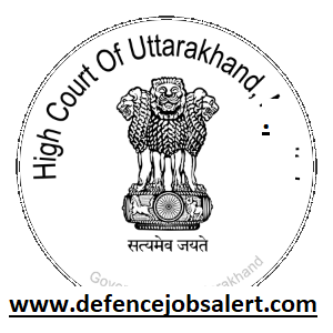 Uttarakhand High Court Recruitment