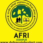 AFRI Jodhpur Recruitment 2021 - 18 Technical Assistant, Technician & Other Post