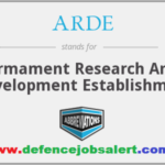ARDE Pune Recruitment