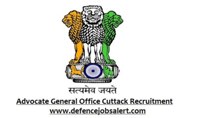 Advocate General Office Cuttack Recruitment