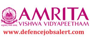 Amrita Vishwa Vidyapeetham Kerala Recruitment