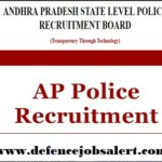 Andhra Pradesh Police Recruitment 2021 - Upcoming Government Notification