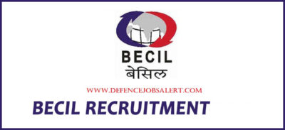 BECIL Uttar Pradesh Recruitment