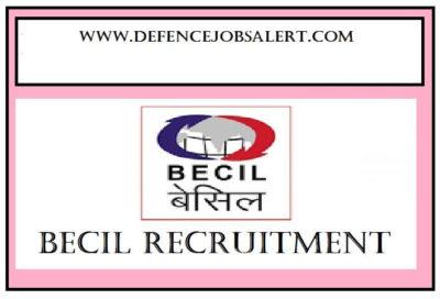 BECIL Andhra Pradesh Recruitment