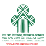 BNPM Recruitment 2021 - Jobs In Bank Note Paper Mill India Private Limited