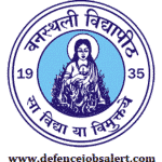 Banasthali University Recruitment