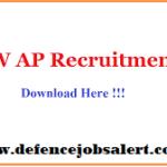CFW AP Recruitment 2021 - Latest Government Notification