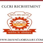 CGCRI Recruitment