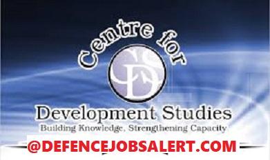 Centre for Development Studies Recruitment