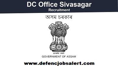 DC Sivasagar Recruitment