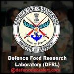 DFRL Junior Research Fellow (JRF) Recruitment 2021 - 11 Vacancies