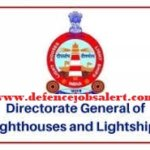 DGLL Uttar Pradesh Recruitment 2021 - Vacancy In Directorate General of Lighthouses and Lightships