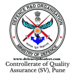 DQA Naval QAE Pune Recruitment 2021 - Jobs In Directorate Of Quality Assurance
