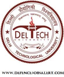 DTU Delhi Recruitment
