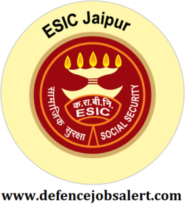 ESIC Jaipur Recruitment