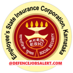 ESIC Karnataka Recruitment 2021 - Latest Government Notification
