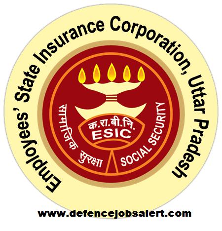 ESIC UP Recruitment