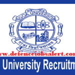 Goa University Recruitment 2021 - Apply Online For 62 Junior Engineer, MTS & Other Vacancies