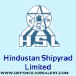 Hindustan Shipyard Recruitment 2021 - Jobs In Hindustan Shipyard