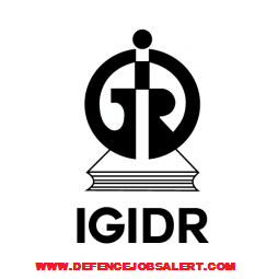 IGIDR Recruitment