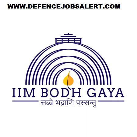 IIM Bodh Gaya Recruitment