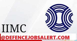 IIMC Recruitment