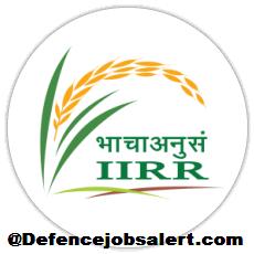 ICAR - IIRR Recruitment