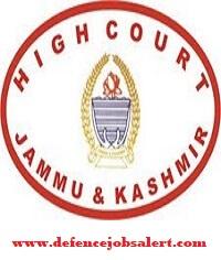 JK High Court Research Assistant Recruitment