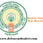 Kadapa Agriculture Dept Recruitment 2021 - Jobs In Kadapa Agriculture Department, Andhra Pradesh