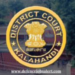 Kalahandi District Court Recruitment
