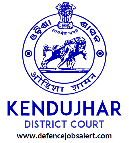 Kendujhar District Court Recruitment