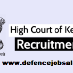 Kerala High Court Recruitment 2021 - Upcoming Jobs In Kerala