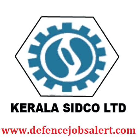 Kerala SIDCO Recruitment