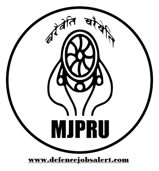 MJP Rohilkhand University Recruitment